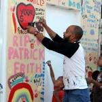 "Chewstick ""Peace"" Mural Painting Bermuda, December 1 2012 (32)"