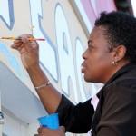 "Chewstick ""Peace"" Mural Painting Bermuda, December 1 2012 (33)"