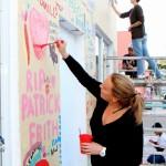 "Chewstick ""Peace"" Mural Painting Bermuda, December 1 2012 (4)"