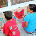 "Chewstick ""Peace"" Mural Painting Bermuda, December 1 2012 (57)"