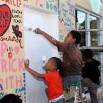 "Chewstick ""Peace"" Mural Painting Bermuda, December 1 2012 (58)"