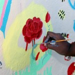 "Chewstick ""Peace"" Mural Painting Bermuda, December 1 2012 (59)"