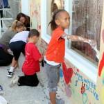 "Chewstick ""Peace"" Mural Painting Bermuda, December 1 2012 (68)"