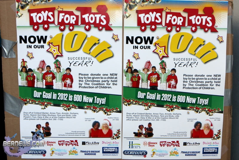 Toys For Tots 2012 : Photos over toys donated for christmas bernews
