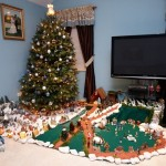 Resendes Family Portuguese Presepio Nativity Scene Christmas Bermuda, December 23 2012 (3)