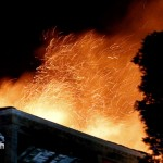 Structural Fire, Hamilton Bermuda, December 19 2012 (2)
