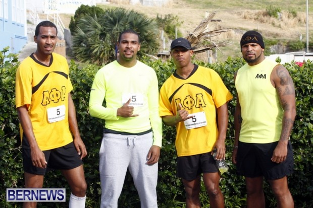Eastern Counties Relay Classic,Bermuda  January 27 2013 Alpha Phi Alpha Team