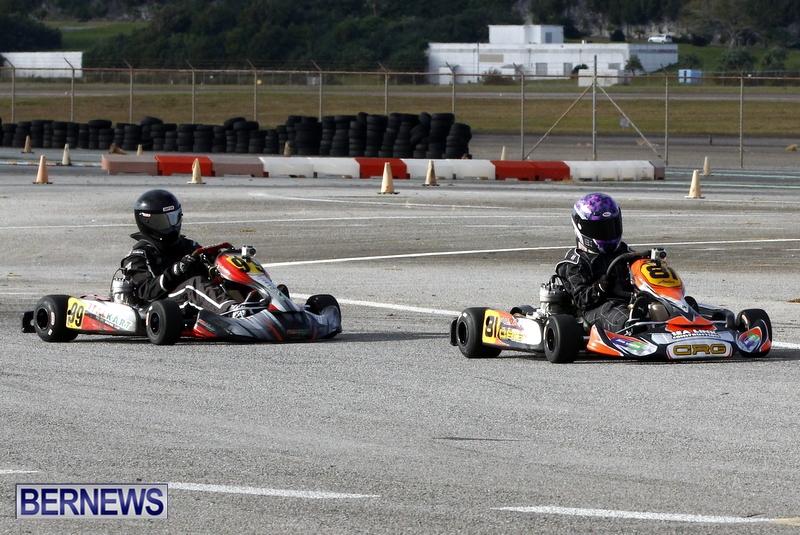 Karting GoKarts Bermuda racing Races  January 6 2013 (12)
