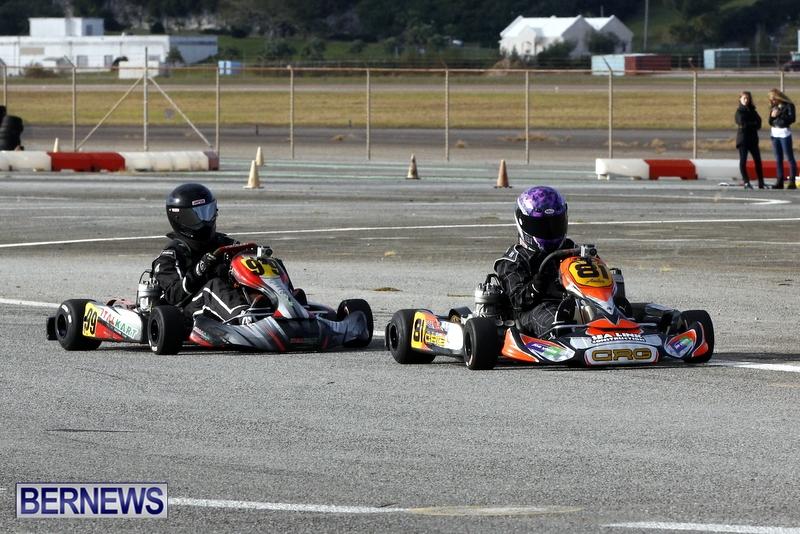 Karting GoKarts Bermuda racing Races  January 6 2013 (16)