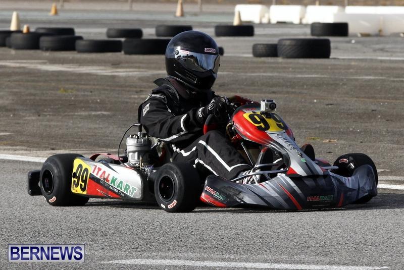 Karting GoKarts Bermuda racing Races  January 6 2013 (17)