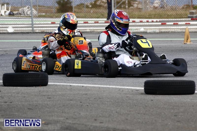 Karting GoKarts Bermuda racing Races  January 6 2013 (5)