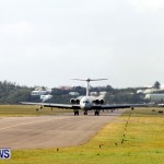RAF Military Aircraft Jets Depart Bermuda LF Wade International Airport, January 23 2013 (1)