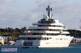 The  Motor Yacht  Eclipse  Roman Abramovich St George's Bermuda, January 29 2013 (5)