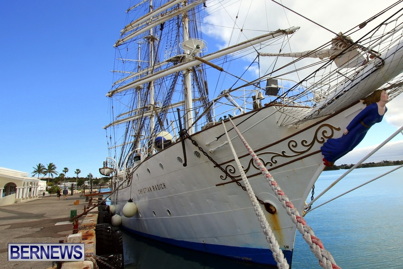 Training Tall Ship Christian Radich, St George's Bermuda, January 15 2013 (33)