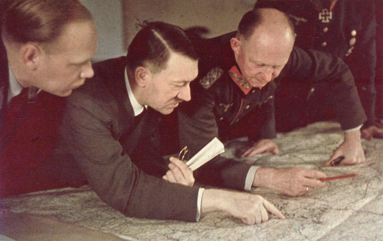 The involvement of america in world war ii to the downfall of adolph hitler