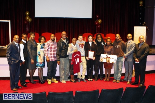CedarBridge Academy  Nahki Wells Bermuda, February 20 2013