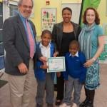 Nikita Robinson with sons Ajani and Caelan_Minister Moniz_Amy Shillingford