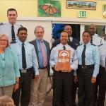Presidents Award Central Community Action Team Bermuda Police Service