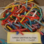 plastic pollution lobster and fish pot tags