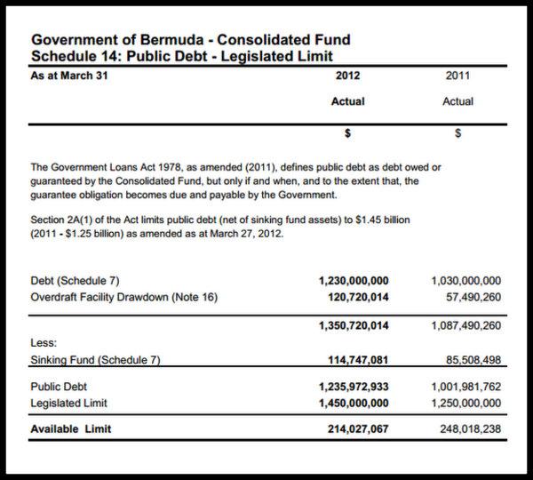 public debt 2013