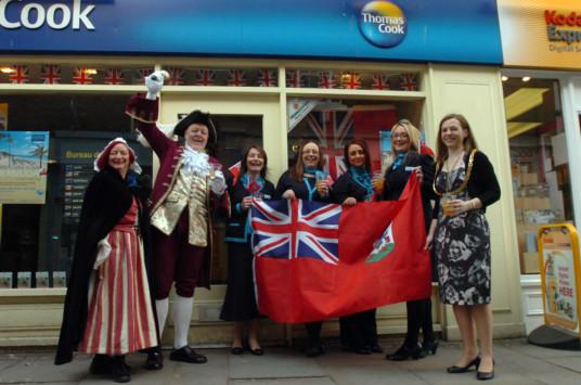 Day' Bernews 'bermuda Holds Agency Travel British F3JcTlK1