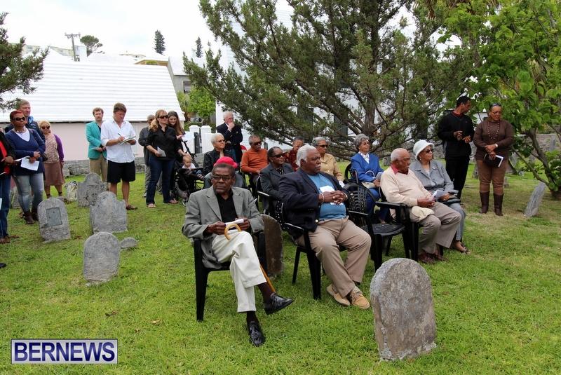 King's Pilot James Jemmy Darrell Commemorative Service, Bermuda April 13 2013 (2)