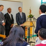 UK Minister Mark Simmonds Visits Youth Parliamentarians at CedarBridge Academy, Bermuda April 26 2013-19