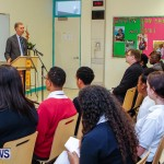UK Minister Mark Simmonds Visits Youth Parliamentarians at CedarBridge Academy, Bermuda April 26 2013-2
