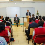 UK Minister Mark Simmonds Visits Youth Parliamentarians at CedarBridge Academy, Bermuda April 26 2013-4