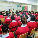 UK Minister Mark Simmonds Visits Youth Parliamentarians at CedarBridge Academy, Bermuda April 26 2013-5