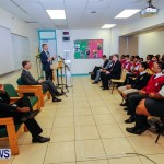 UK Minister Mark Simmonds Visits Youth Parliamentarians at CedarBridge Academy, Bermuda April 26 2013-7