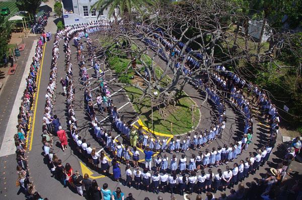 Bermuda High School Holds Torch Ceremony - Bernews.com : Bernews.com