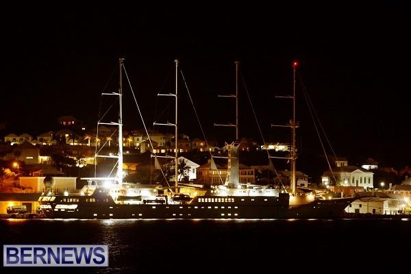 windstar cruise at night