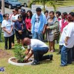Nahge O'Brien Memorial Tree Planting, CedarBridge Bermuda May 3 2013-16