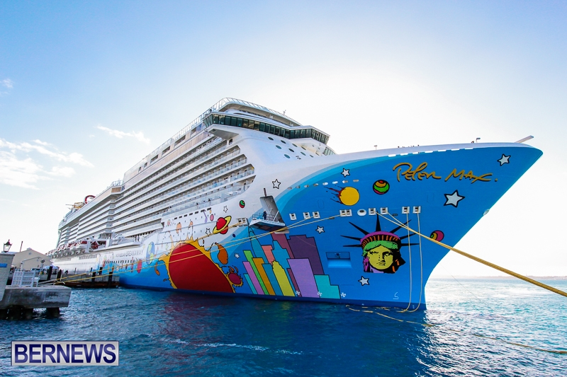 Norwegian Dawn Breakaway Time Change Bernews Bernews - Cruise ship dawn
