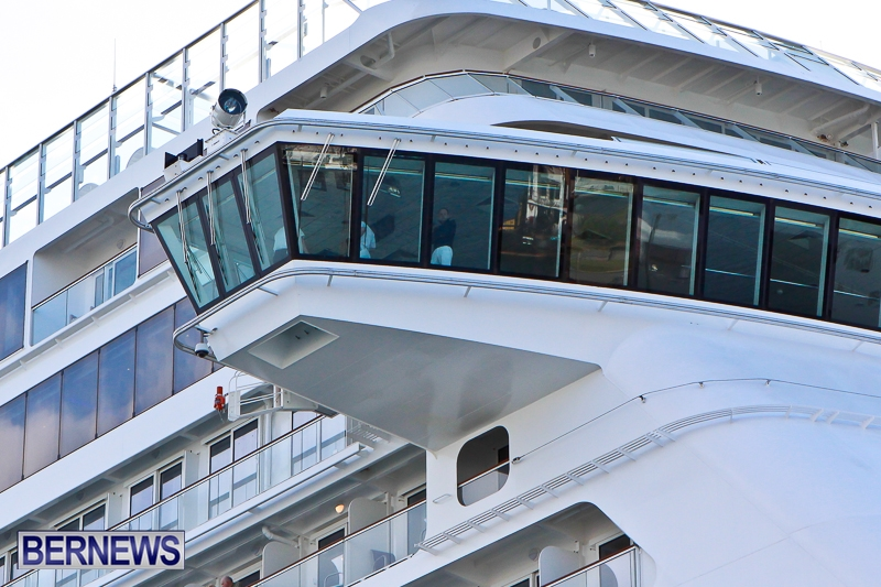Photos Norwegian Breakaway Cruise Arrival Bernews