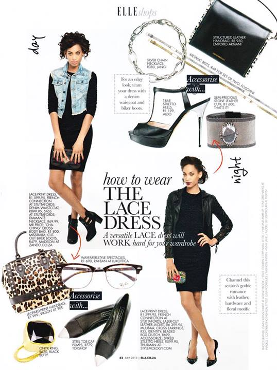 Lillian Lightbourn in Elle South Africa (1)