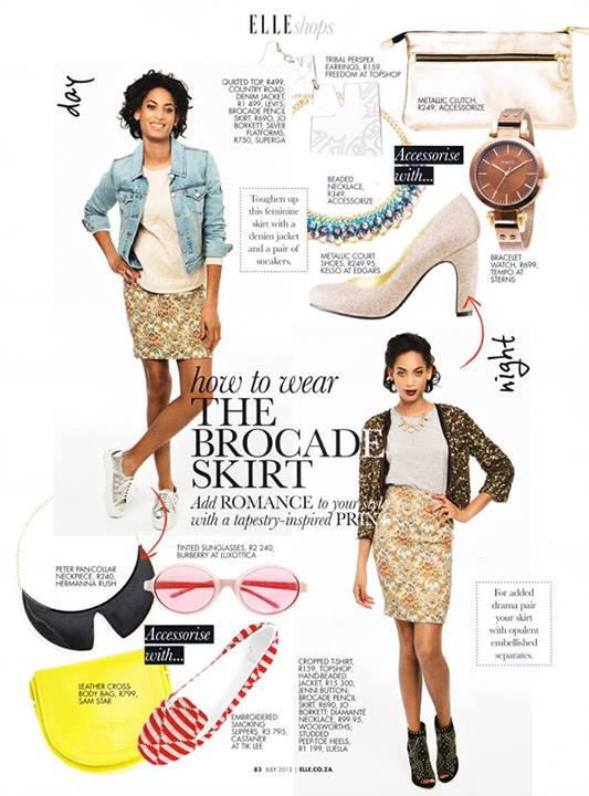 Lillian Lightbourn in Elle South Africa (2)