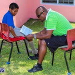 Men Reading At Elliot Primary School Bermuda, June 7 2013-38
