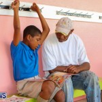 Men Reading At Elliot Primary School Bermuda, June 7 2013-80