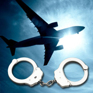 aiplane-handcuff arrested airline avi generic thumb