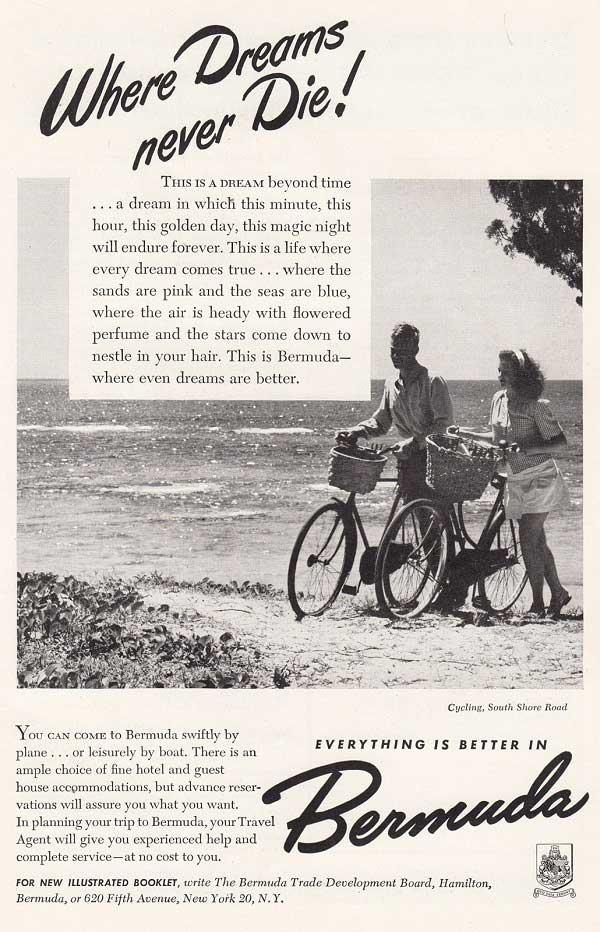 Looking Back: 1940s Bermuda Tourism Ads - Bernews