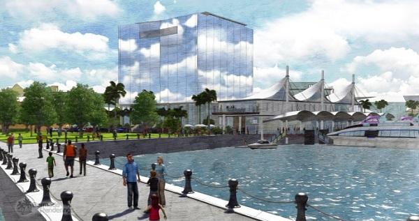 Hotel & Ferry Terminal