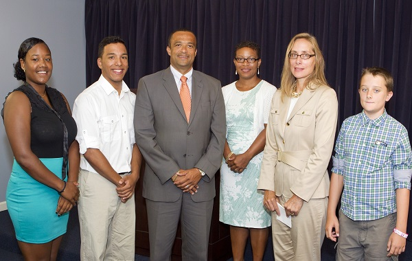 Minister Scott - Arts Council Scholarship