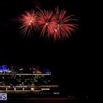 Norwegian Breakaway Fireworks In Dockyard Bermuda, July 4 2013-10