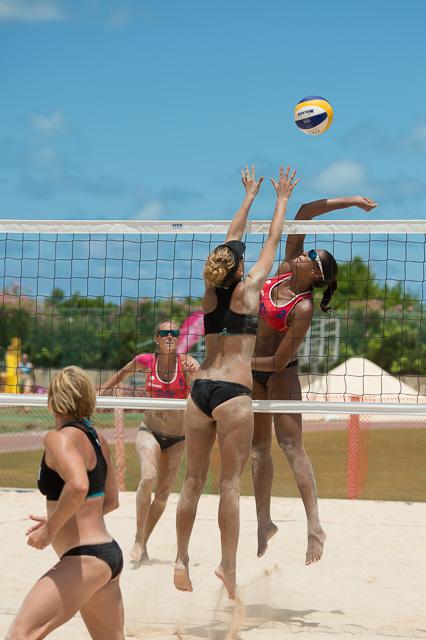 Beach Volleyball Jersey Island Games
