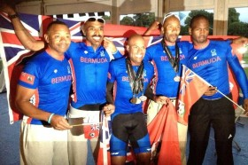 BPS Cycling Team Two Medalists 2013 WPFG