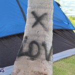 Spray Paint On Trees Cup Match Bermuda, Jul 31 2013 (3)