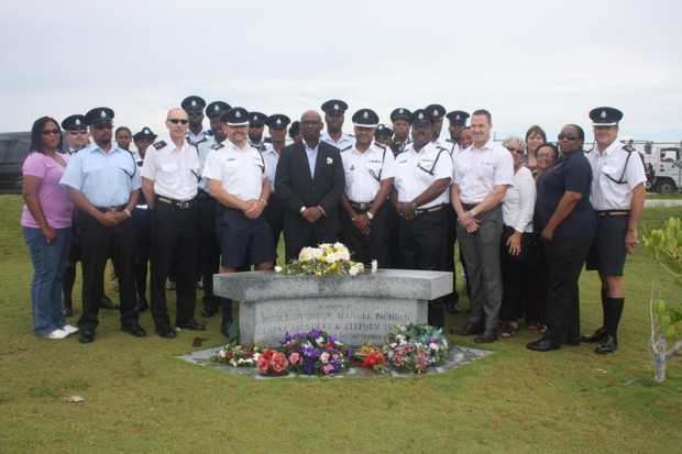 10th Hurricane Fabian Memorial - Group Photo