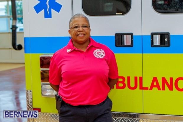Bermuda Fire Service Breast Cancer Awareness Donna Hendrickson, October 29, 2013-1-2